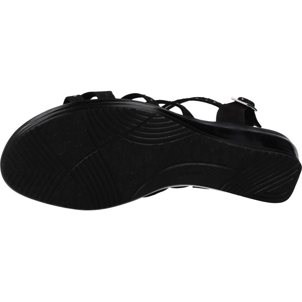 24 Horas 24510 Negro Zapatos Online.
