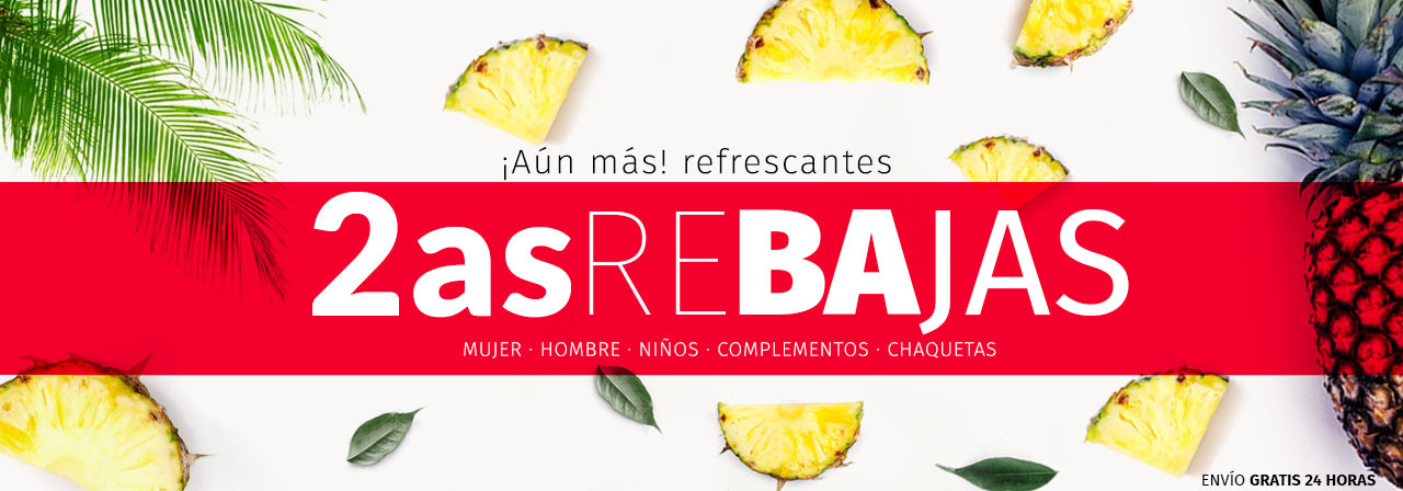 2as REBAJAS EN zacaris