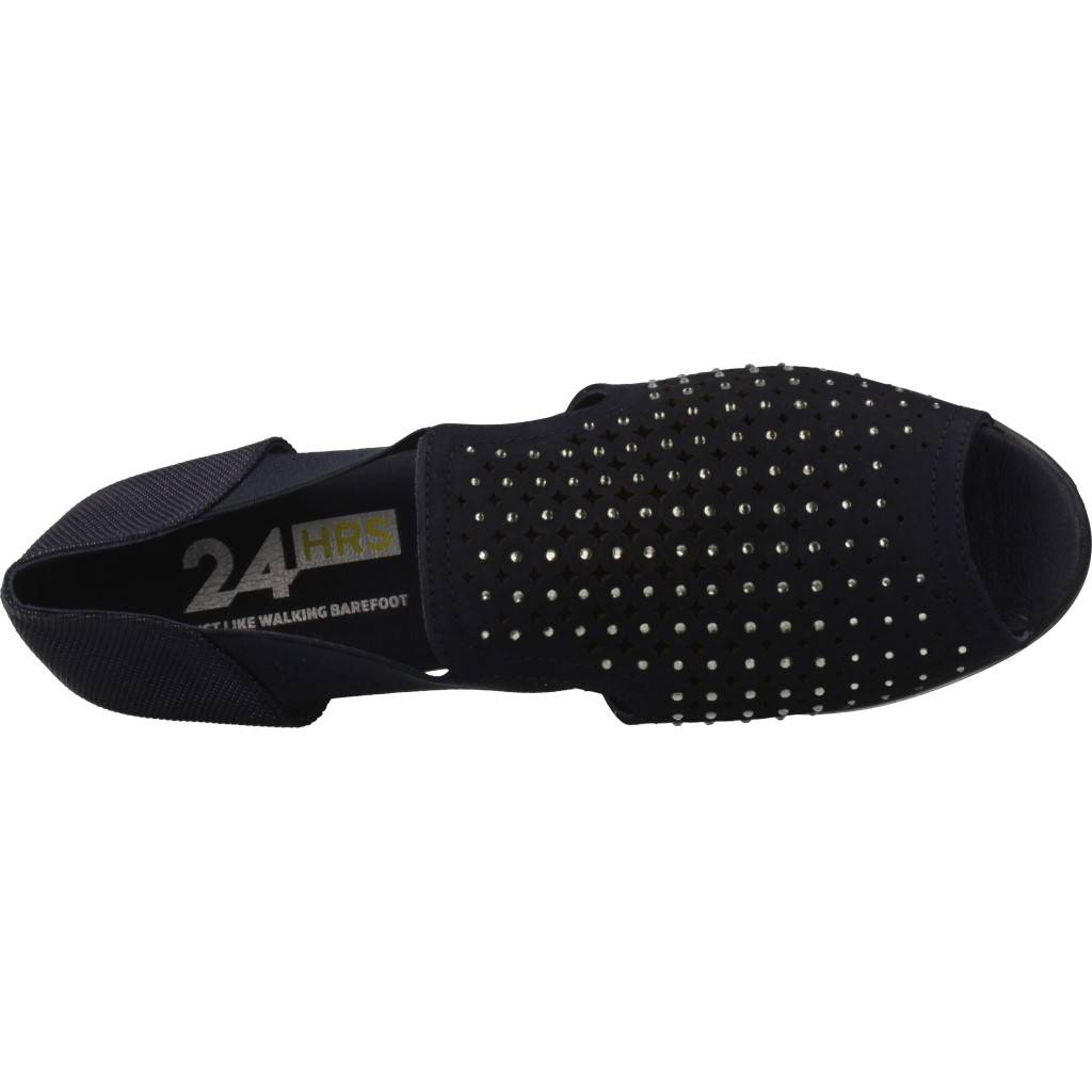 24 Horas 23983 Azul Zacaris Zapatos Online - Gran Venta
