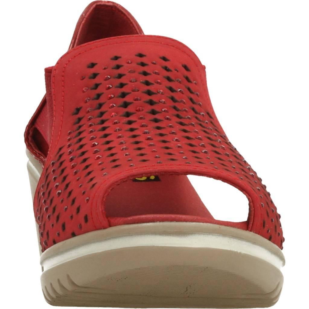 24 Horas 23983 Rojo Zacaris Zapatos Online - Gran Venta
