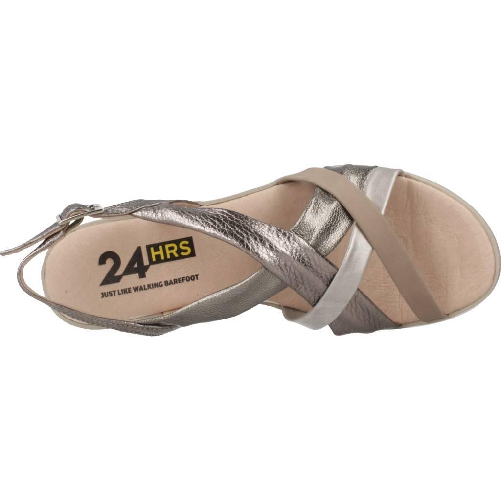 24 Horas 24062 Plata Zacaris Zapatos Online - Gran Venta
