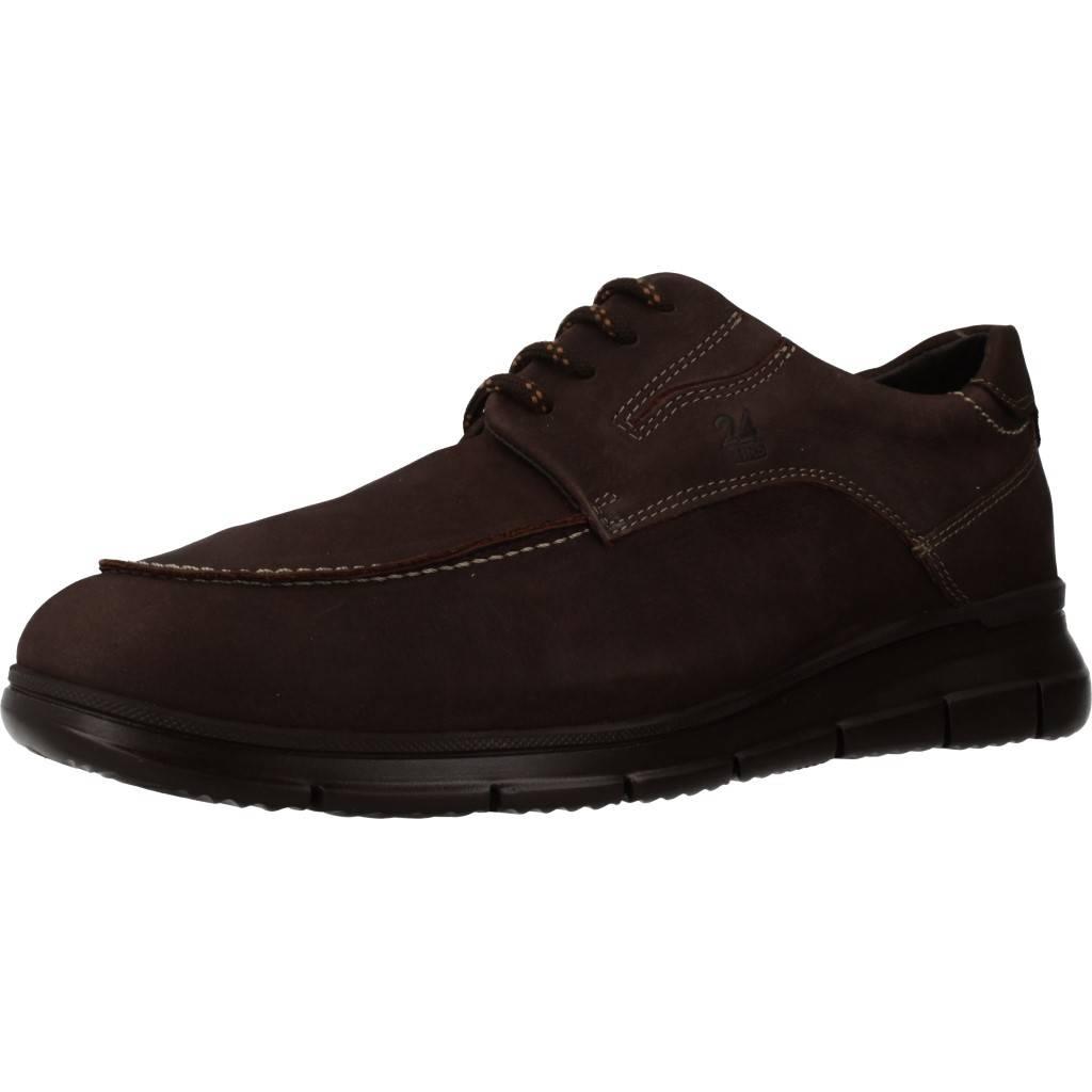 24 Horas 90914 Marron Zacaris Zapatos Online - Gran Venta