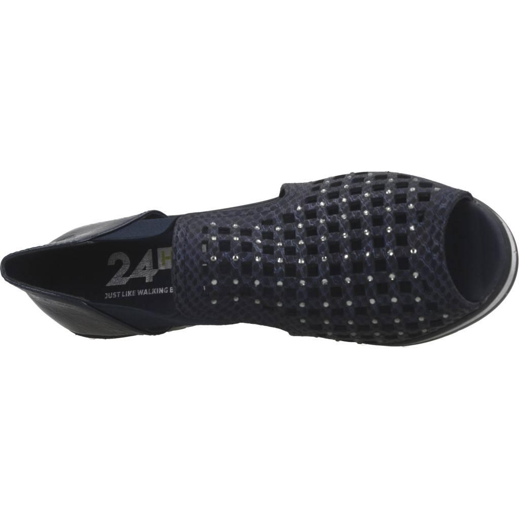 24 Horas 24445 Azul Zacaris Zapatos Online - Gran Venta