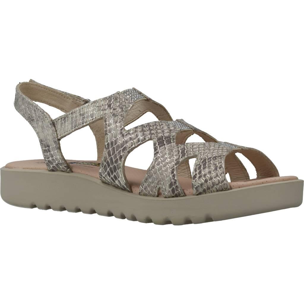 24 Horas 24498 Oro Zacaris Zapatos Online - Gran Venta