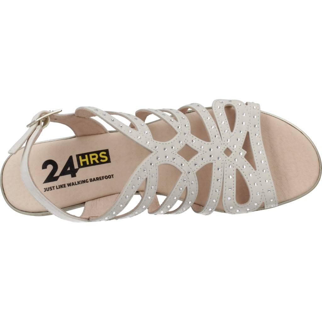 24 Horas Sand-3 Brillantes Beis Zacaris Zapatos Online - Gran Venta