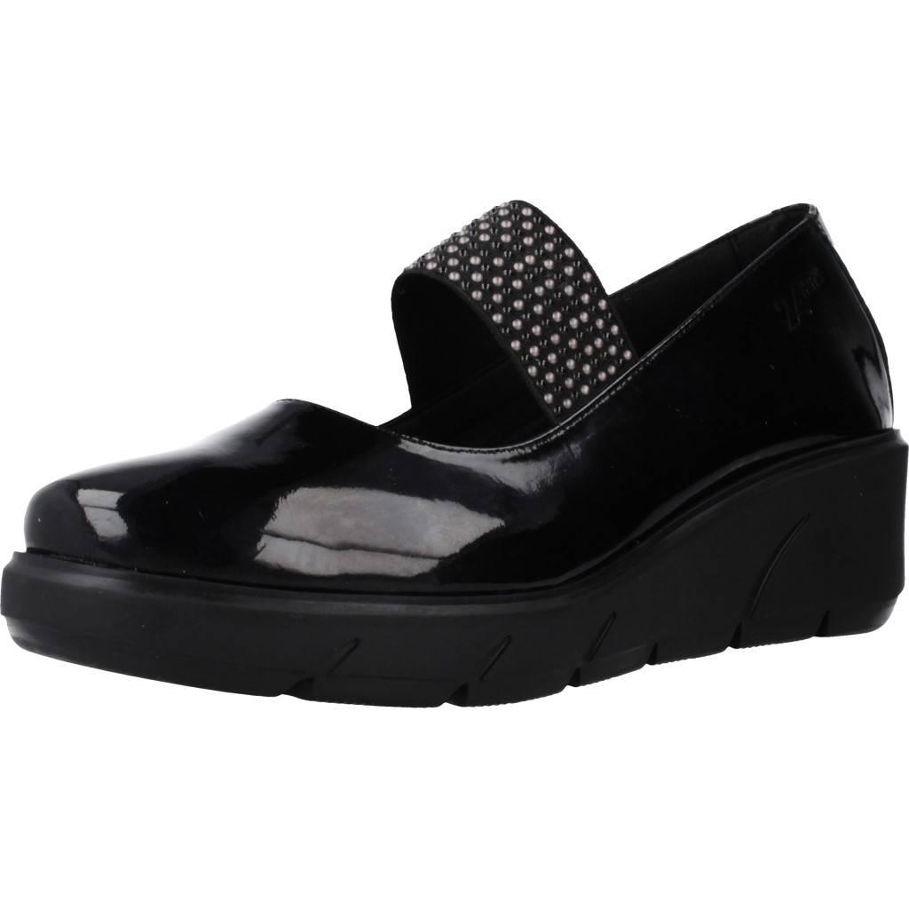 24 Horas 24251 Negro Zacaris Zapatos Online - Gran Venta