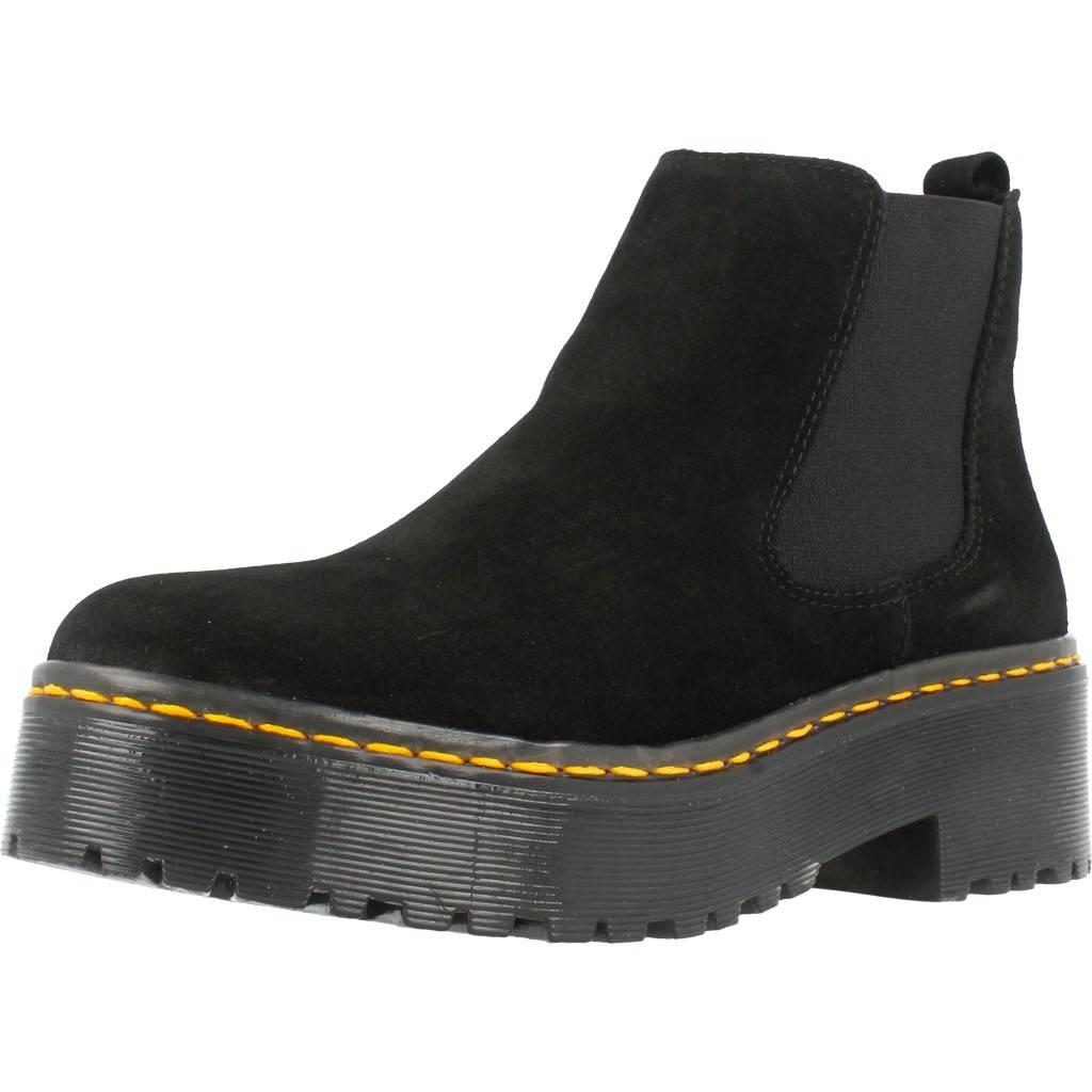 Stiefelleten/Stiefel Damen ALPE 3473 11, Farbe Schwarz