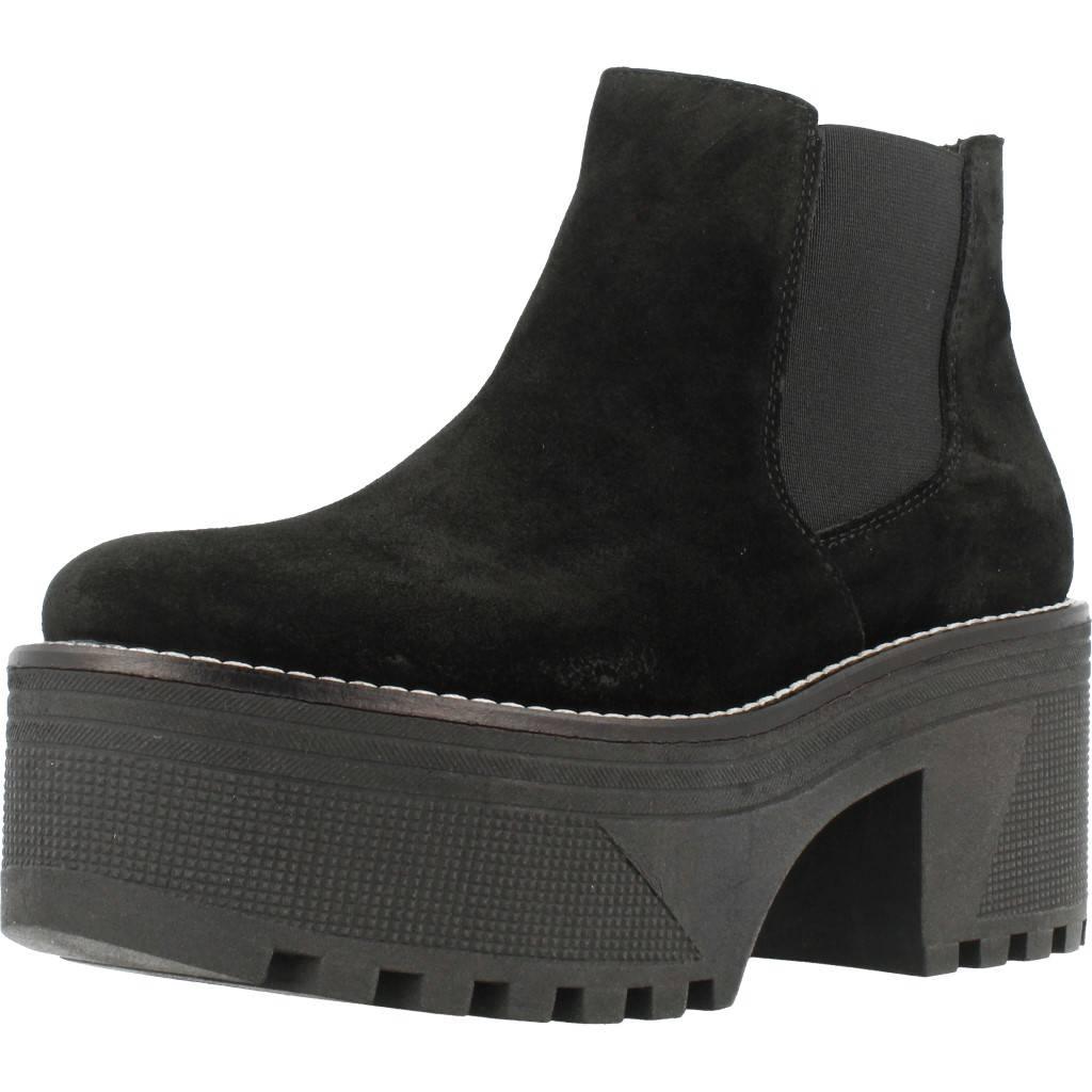 Stiefelleten Stiefel Damen ALPE 3504 11 Schwarz 74012 schwarz