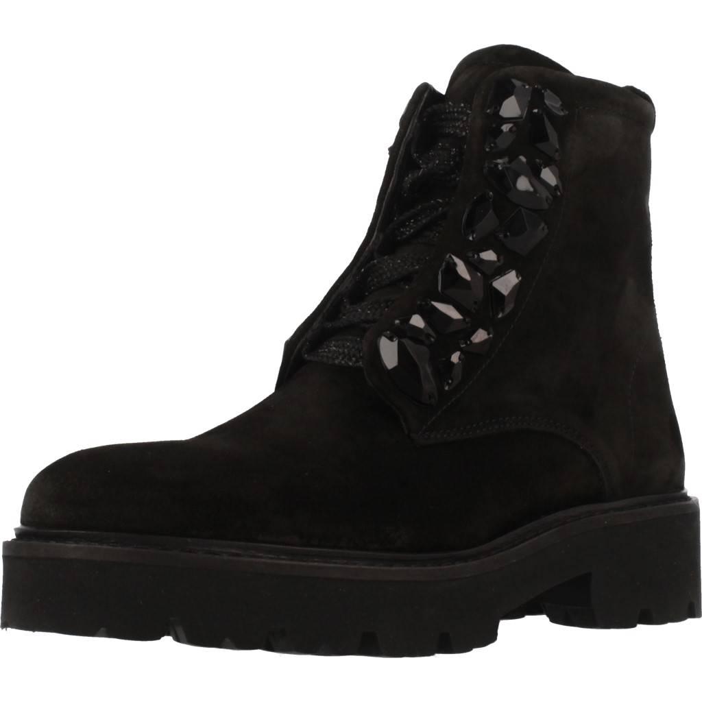 Stiefelleten Stiefel Damen ALPE 3729 11 Schwarz 81623 schwarz