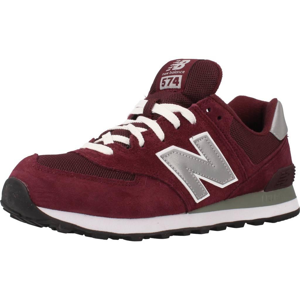 official photos d74da c4861 NEW BALANCE M574 NBU BURDEOS Zacaris zapatos online.