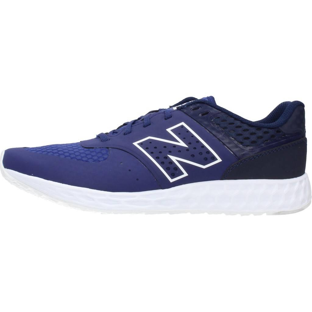 Chaussures De Sport Pour Hommes, Bleu, L'équilibre De La Marque Des Nouveaux Hommes Chaussures De Sport New Balance Modèle Nr Mfl574 Bleu