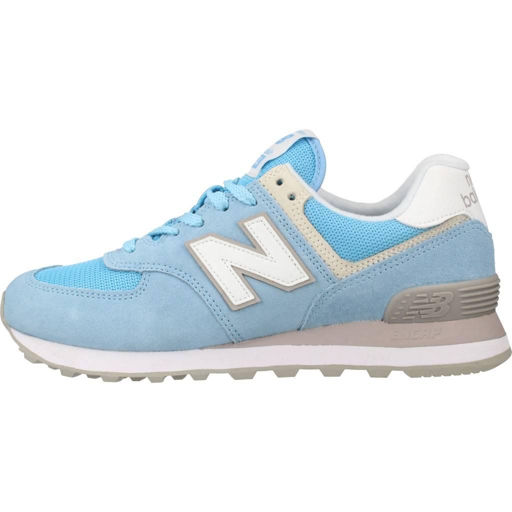 New Balance Wl 574ESB Zapatillas de mujer Zapatos CLEAR SKY Nublado wl574esb