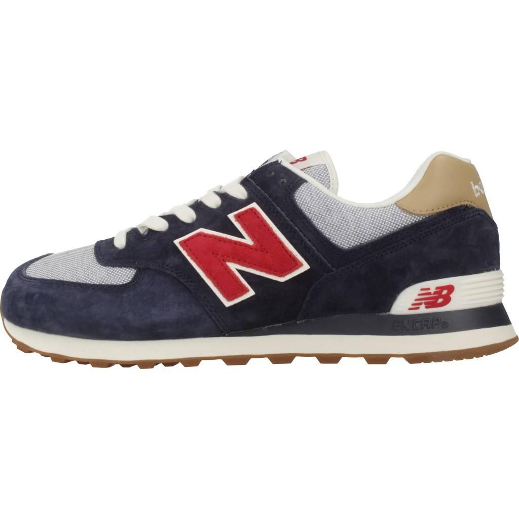 b76a0e84 NEW BALANCE ML574 AZUL Zacaris zapatos online.