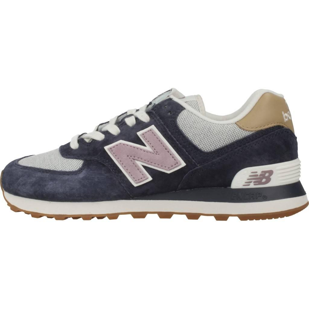 zapatilla new balance wl574 azul nvc