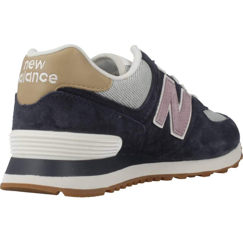 f35cbad314b NEW BALANCE WL574 AZUL Zacaris zapatos online.