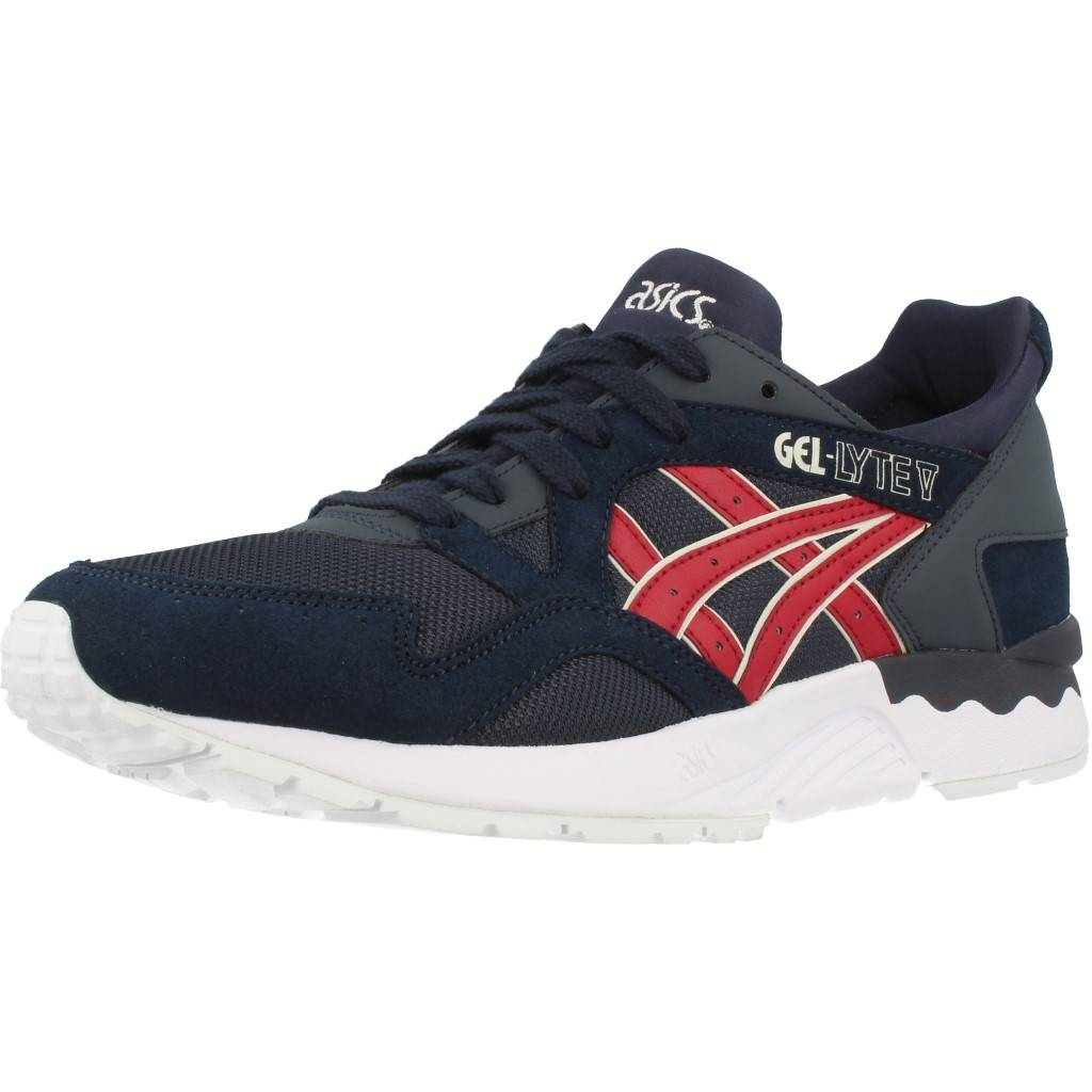 100% authentique 510c7 4f0de Details about Basket pur homme ASICS GEL-LYTE V, Color Blue