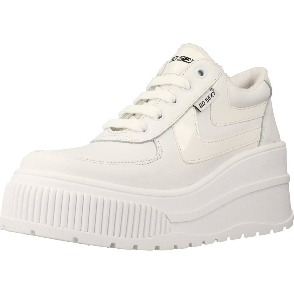 Damen Laufschuhe GO SEXY X YELLOW SURWAVE GO SEXY, Farbe Weiß