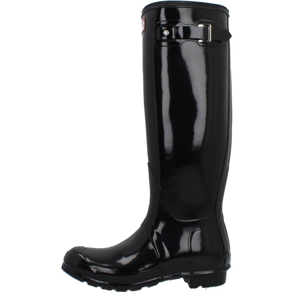 ad6b09b812 HUNTER ORIGINAL TALL GLOSS BLACK NEGRO Zacaris zapatos online.