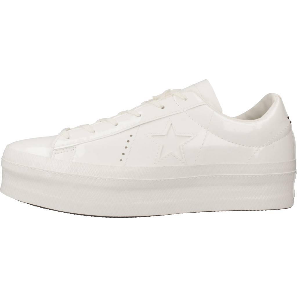 CONVERSE ONE STAR PLATFORM OX BLANCO Zacaris zapatos online.