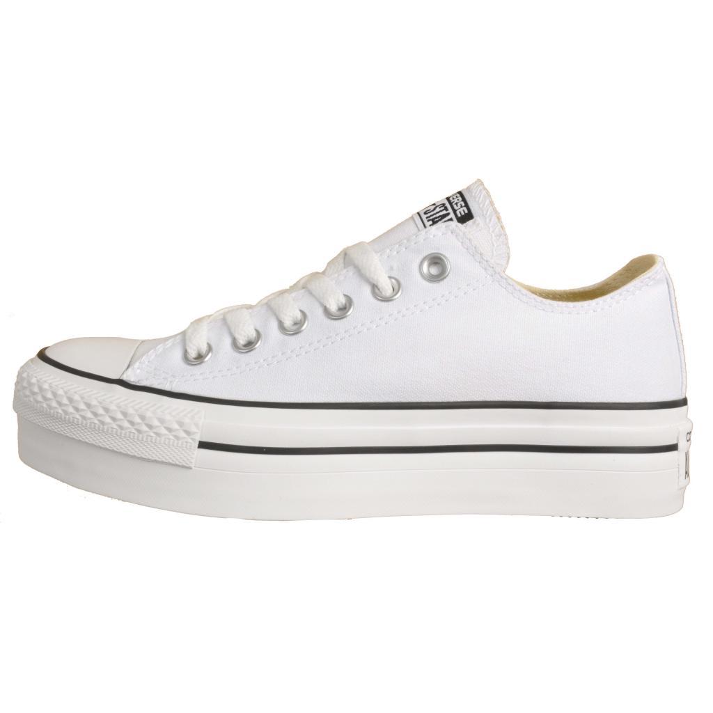 CONVERSE CHUCK TAYLOR STAR PLATFORM BLANCO Zacaris zapatos