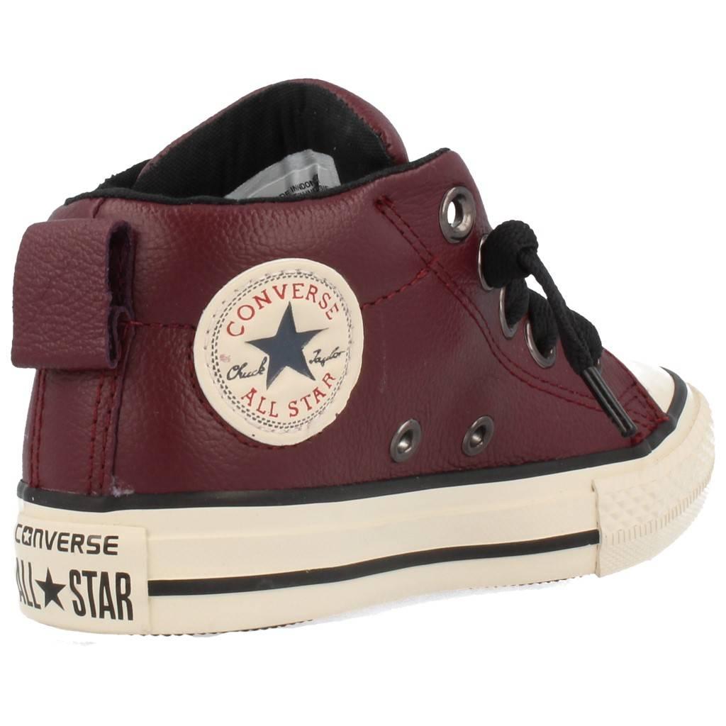 zapatillas converse niños piel