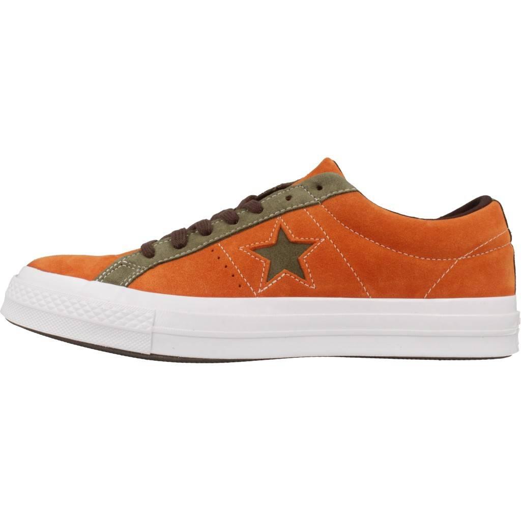 converse one star ox calzado naranja brbc6b4ff