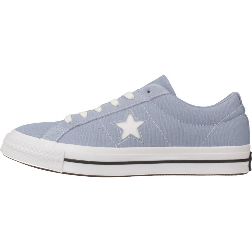 670b686c2 CONVERSE ONE STAR OX AZUL Zacaris zapatos online.