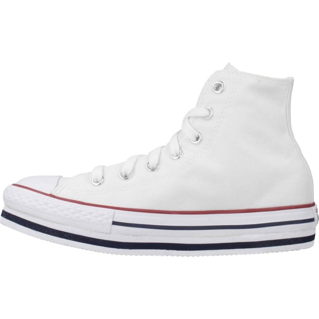canto cadena Persuasión  CONVERSE CONVERSE HI LIFT BLANCO Zacaris zapatos online.