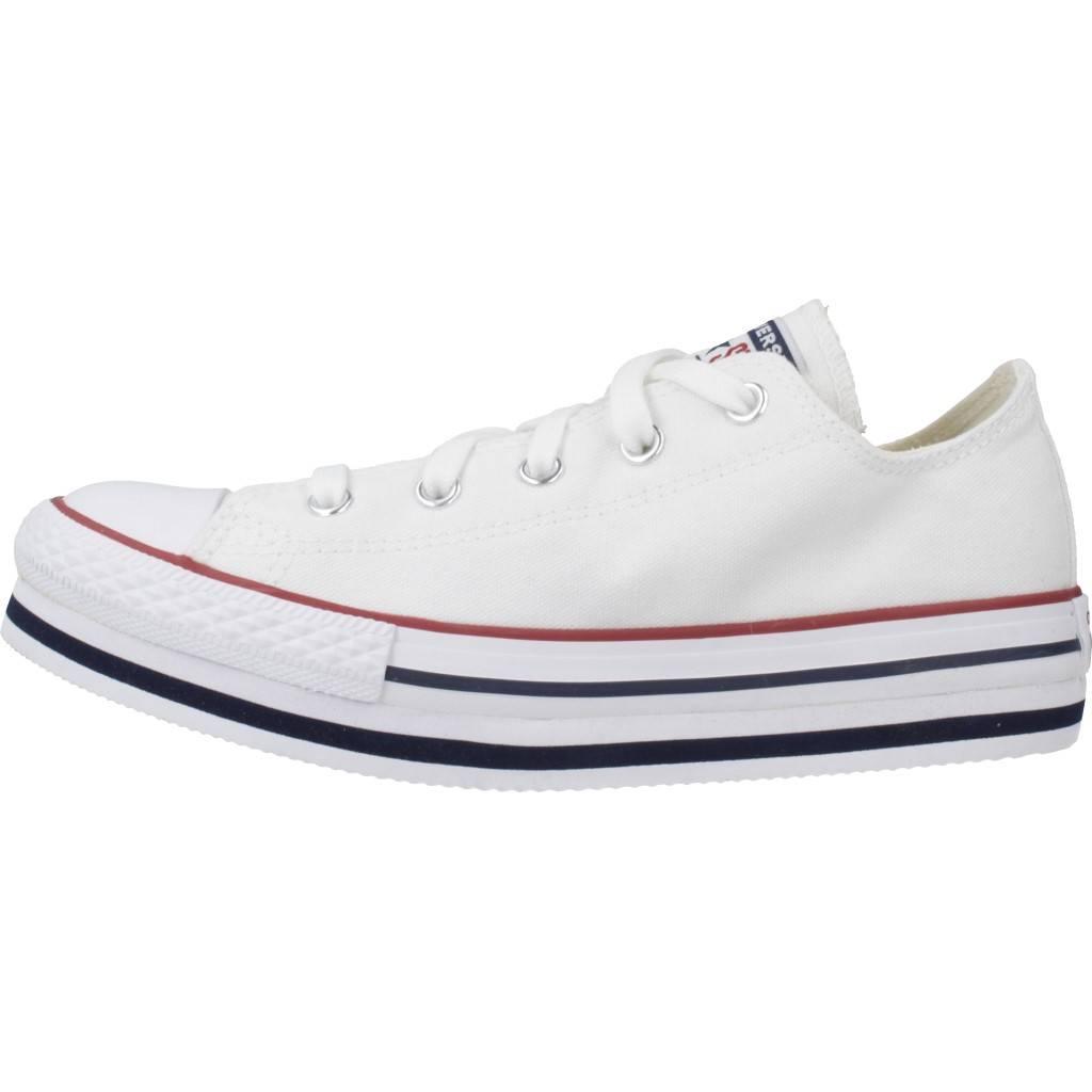 Sombra Reembolso Moretón  CONVERSE CONVERSE CHUCK TAYLOR ALL STAR BLANCO Zacaris zapatos online.