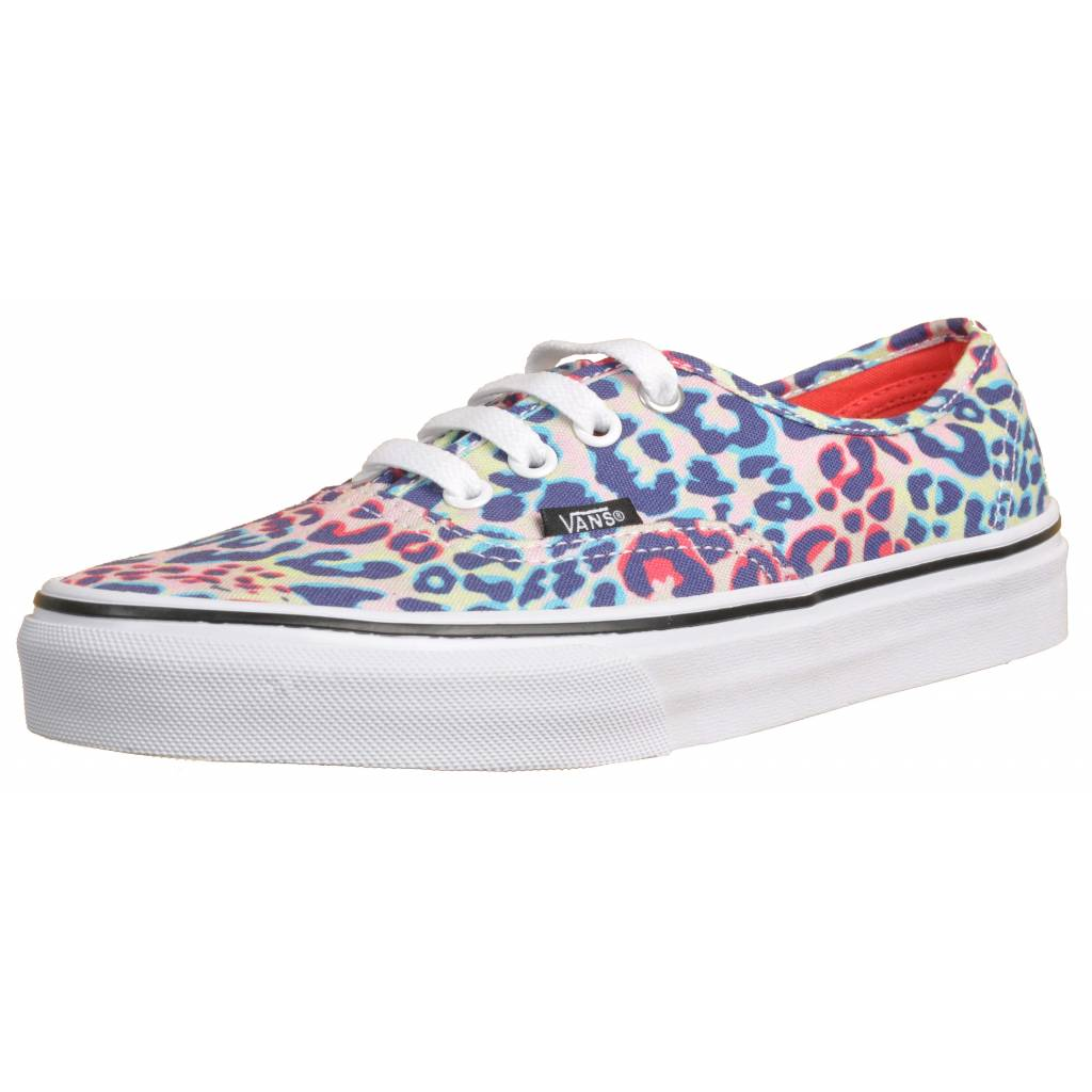zapatillas vans animal print