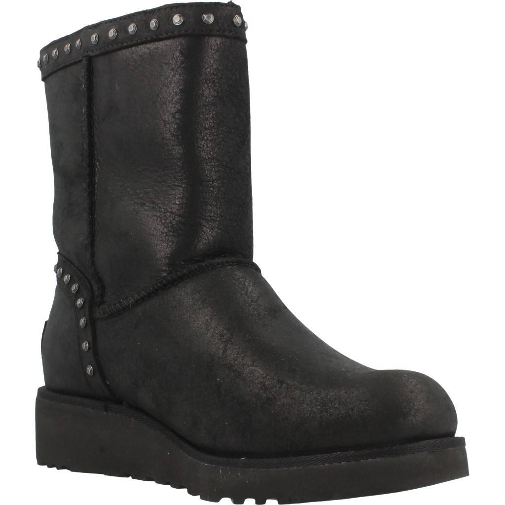 UGG W CYD LEATHER NEGRO Zacaris zapatos online.