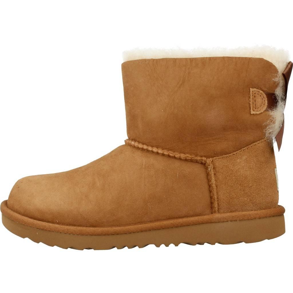 b61e846f UGG MINI BAILEY BOW II MARRON Zacaris zapatos online.