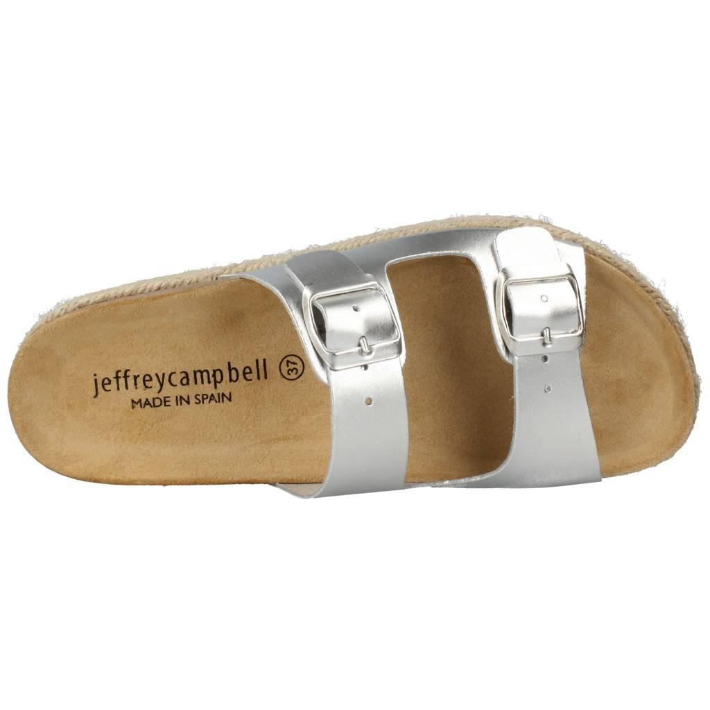 Jeffrey Campbell 265079 Plata Zacaris Zapatos Online - Gran Venta
