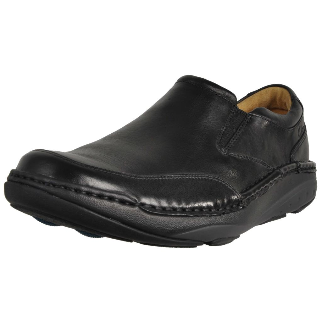Zapatos Negro Clarks Step Online Movers 77Pwq