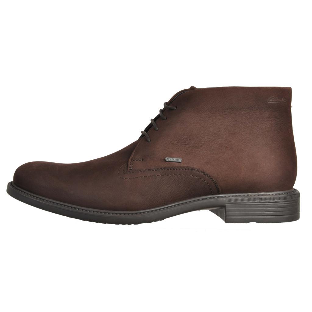 22eb6031 CLARKS FAWLEY HI GORETEX MARRON Zacaris zapatos online.