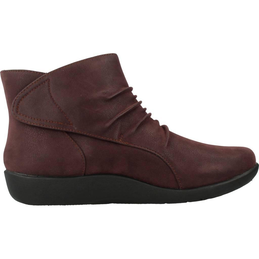 Stiefelleten/Boots Damen CLBRKS SILLIBN SWBY, Farbe Burgund
