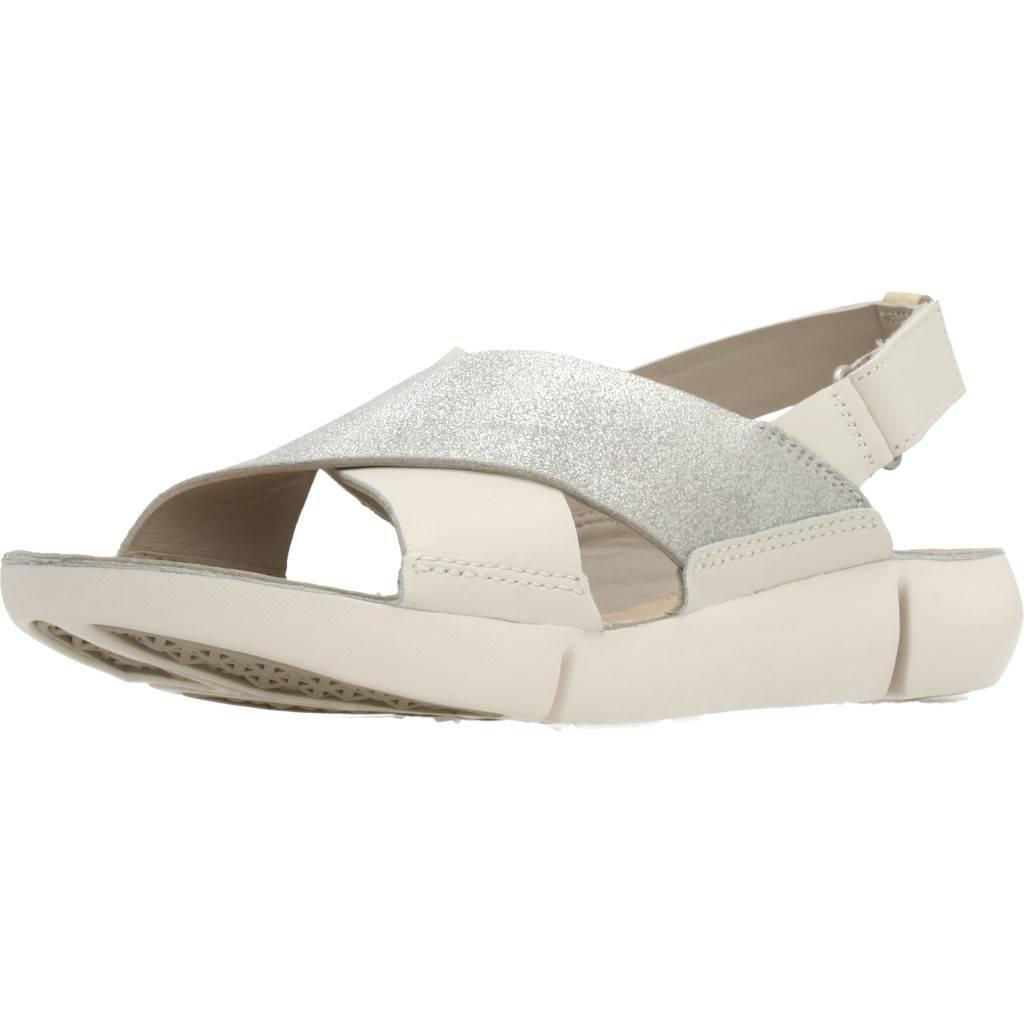 Whitesilver Zapatos Online Tri Clarks Blanco Chloe Zacaris zSUqVMp