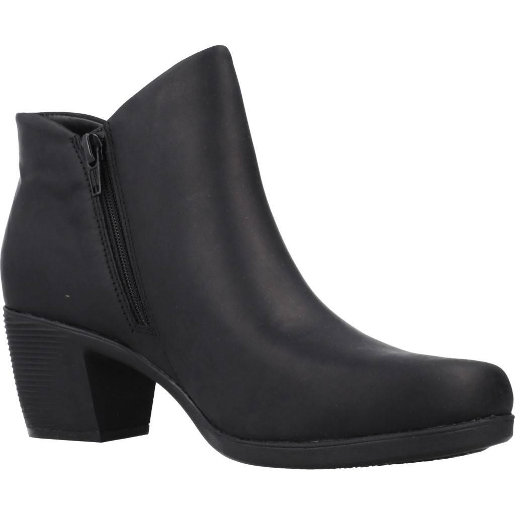 CLARKS UN LINDEL ZIP NEGRO Zacaris zapatos online.