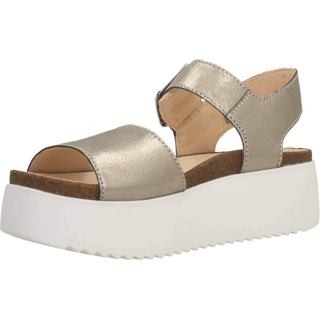 Clarks Botanic Strap Stone Oro Zacaris Zapatos Online - Gran Venta