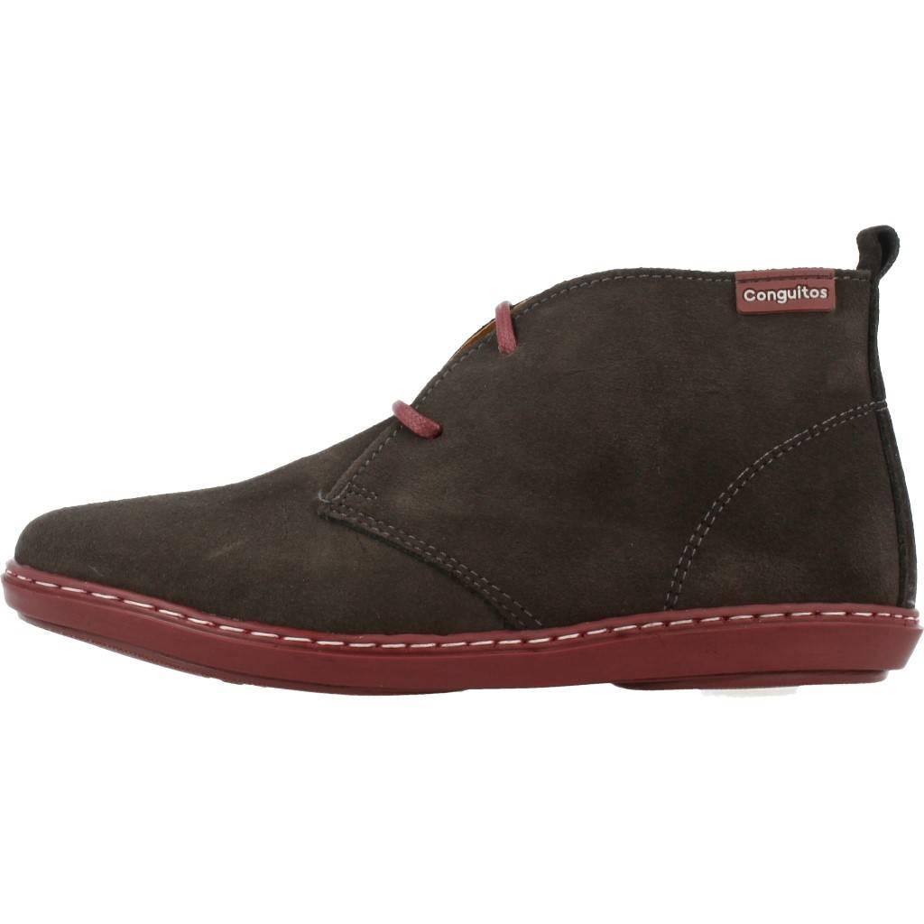 Grandes precios de zapatos para hombres y mujeres CONGUITOS HI128701 MARRONZapatos niños  Zapatos Niños  Botas