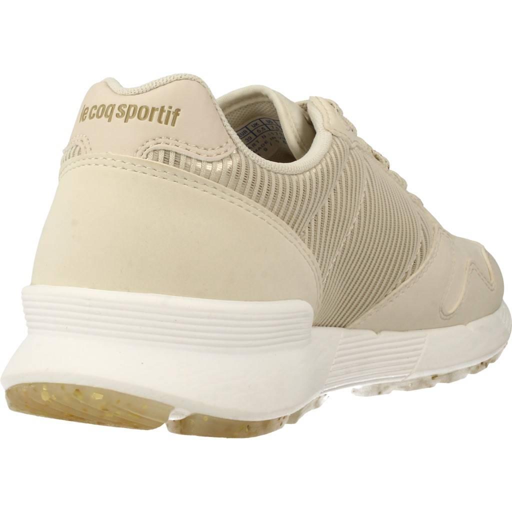 Damen Laufschuhe COQ LE COQ Laufschuhe SPORTIF OMEGA X W STRIPED SOCK SPAR, Farbe Beige 05c383