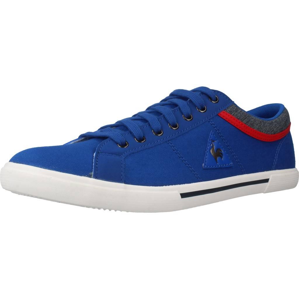 Le Coq Sportif Saint Dantin Canvas 2 Tones Azul Zacaris Zapatos Online - Gran Venta