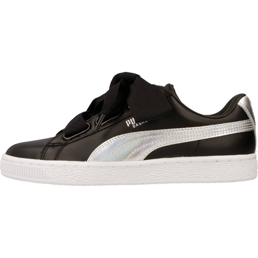 Online Zacaris Puma Basket Explosive Zapatos Heart Negro 1cT35uJlFK