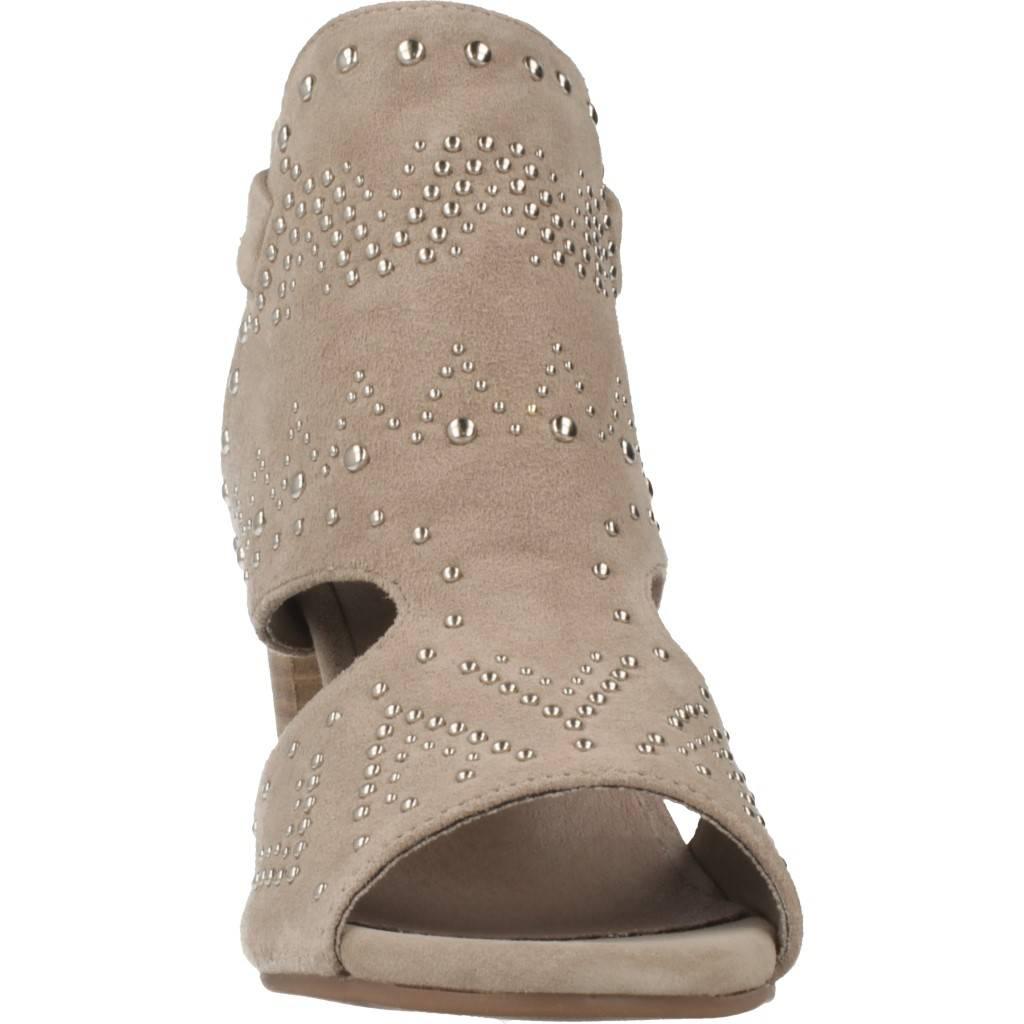 Carmela Sandalia Tachuelas Marron Zacaris Zapatos Online - Gran Venta