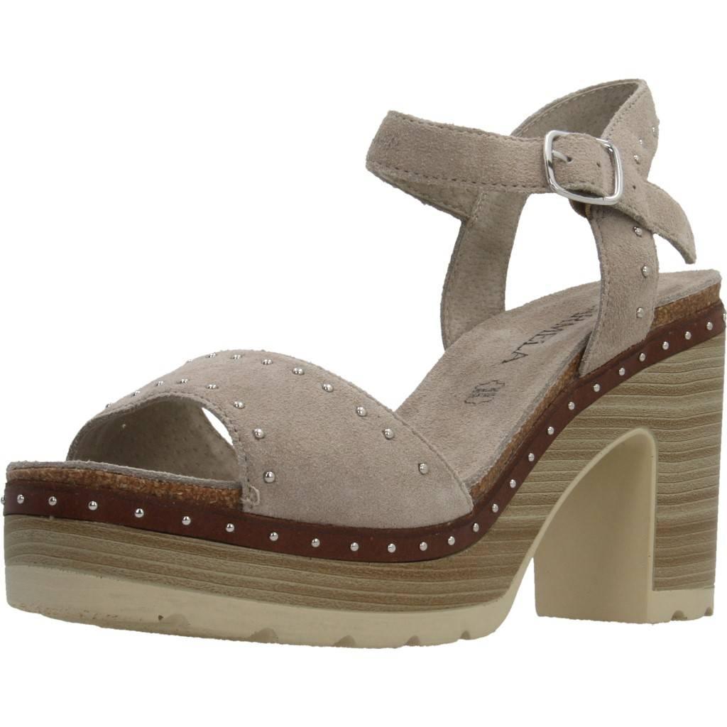 Sandalo CARMELA 66673C, Coloree Marronee