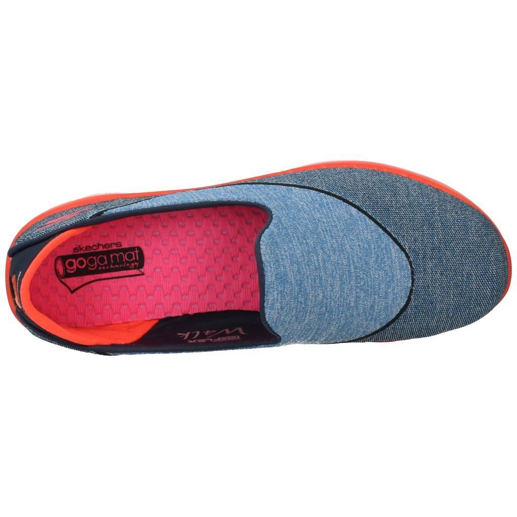 Sport Zapatillas MUJER SKECHERS GO FLEX 61737 AZUL