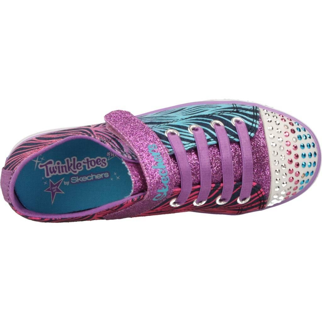 10710L Zapatos Niñas Niños Skechers 70584 ROSA 10710L