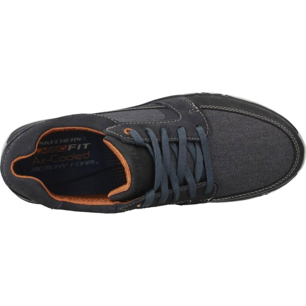 Zapatos Informales Hombre SKECHERS 65511S Blau , Farbe Blau 65511S e8e6e4