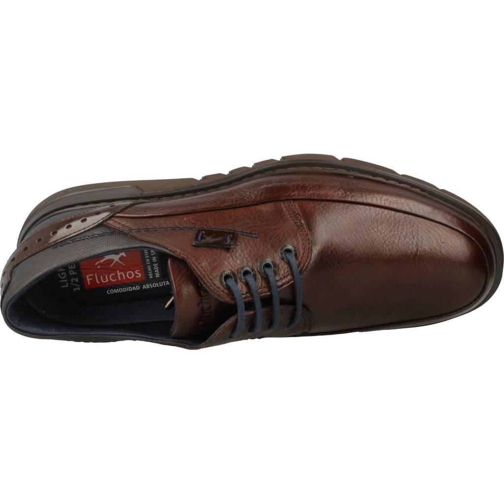 6b9d7711 Color Hombre Zapatos 20c54b Fluchos 9505 Informales Marrón B7zqI