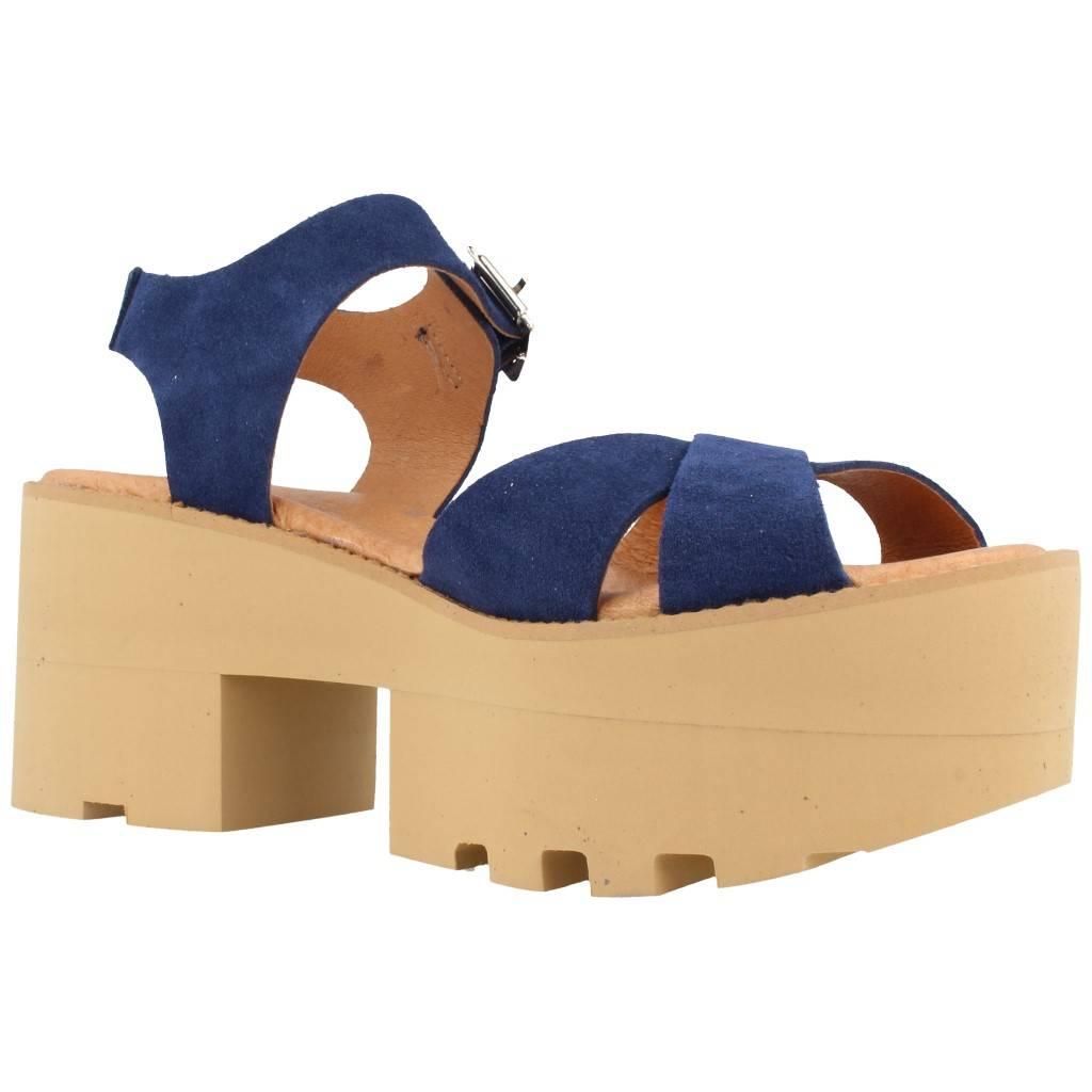 Yellow Génova Azul Zacaris Zapatos Online - Gran Venta
